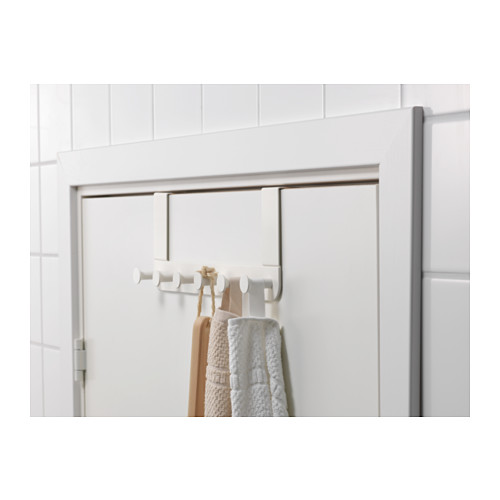 Attaccapanni per porta bianco porta asciugamani ikea - Attaccapanni bagno ...