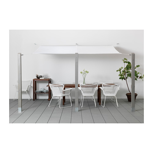 tenda tendone parasole 300x200 ikea dyning inclusi. Black Bedroom Furniture Sets. Home Design Ideas