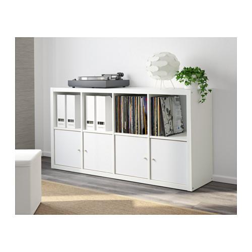 Libreria scaffale 77x147 bianco ikea kallax ex expedit ebay - Cestos para kallax ...