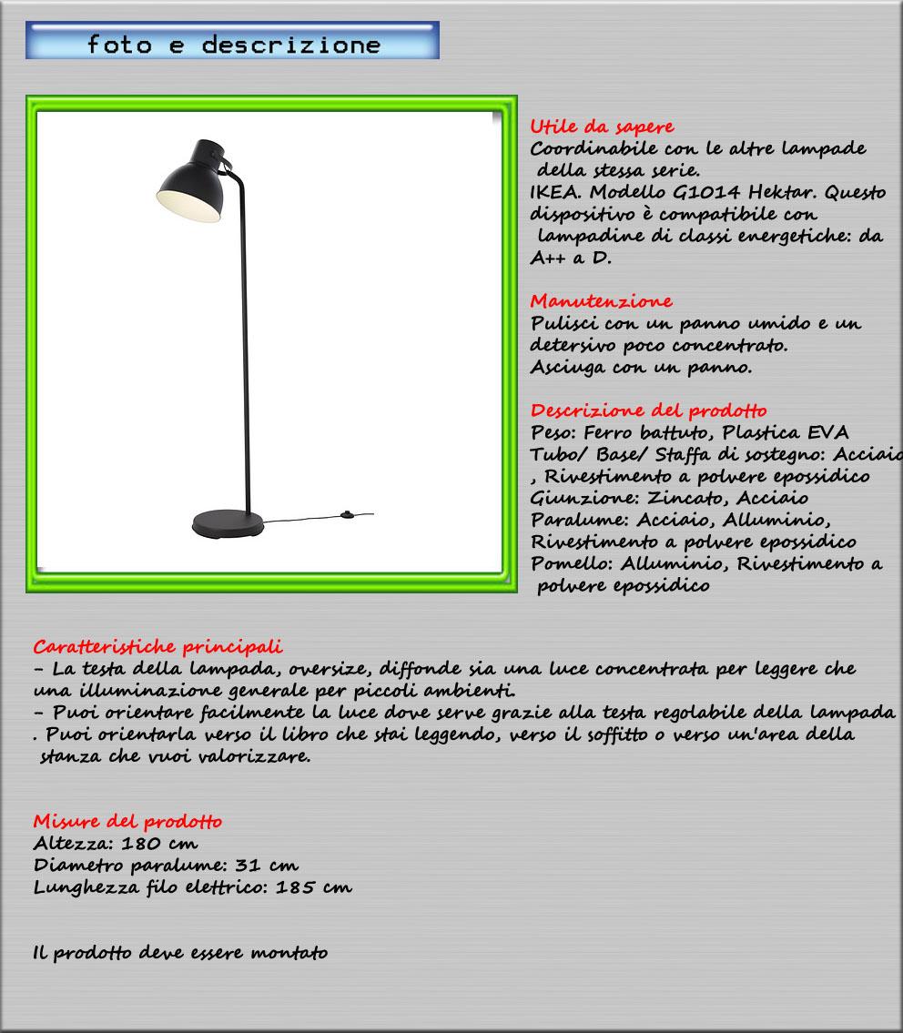 Piantana lampada da terra 180 cm luce concentrata ikea for Ikea lampade da terra