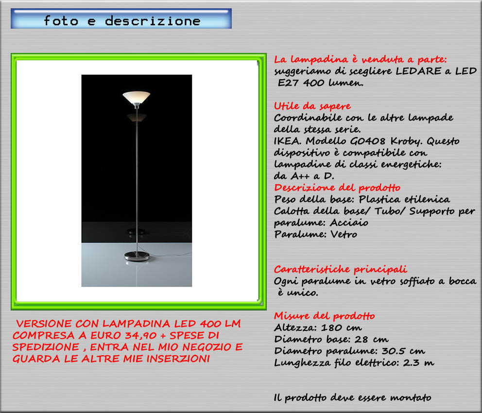 Lampade ikea ikea lampada tavolo social shopping su for Lampada piantana ikea