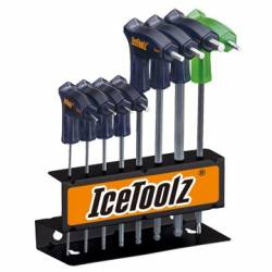 IceToolz SERIE BRUGOLE A T 8 PEZZI