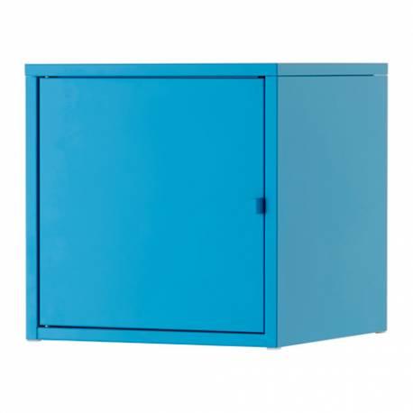 Ikea Mobile Metallo.Ikea Lixhult Mobile Metallo Blu