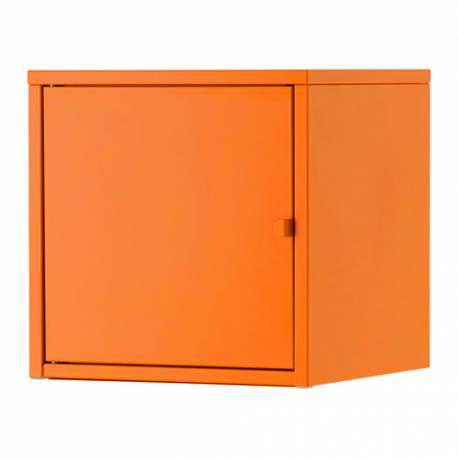 IKEA LIXHULT Mobile, metallo, arancione 35 x 35 cm