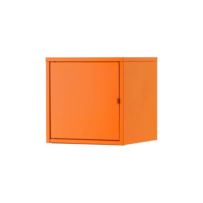 Ikea lixhult mobile metallo arancione - Ikea mobile metallo ...