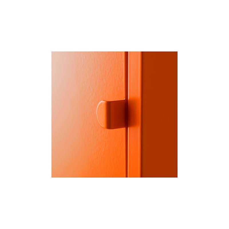 Ikea Lixhult Mobile Metallo Arancione