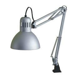 IKEA TERTIAL Lampada da lavoro, color argento, classe A++