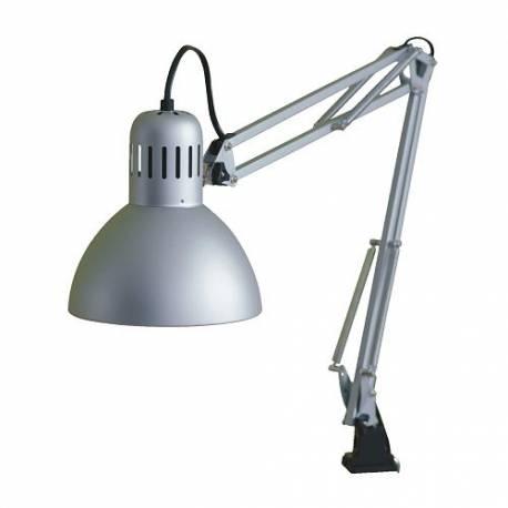 IKEA TERTIAL Lampada da lavoro, color argento