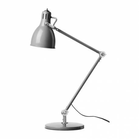 IKEA ARÖD Lampada da lavoro, grigio