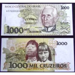 BANCONOTA BRAZIL 1000 cruzeiros 1991 FDS UNC