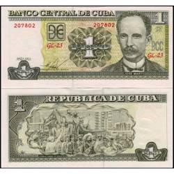 BANCONOTA CUBA 1 peso 2011 - FDS-UNC