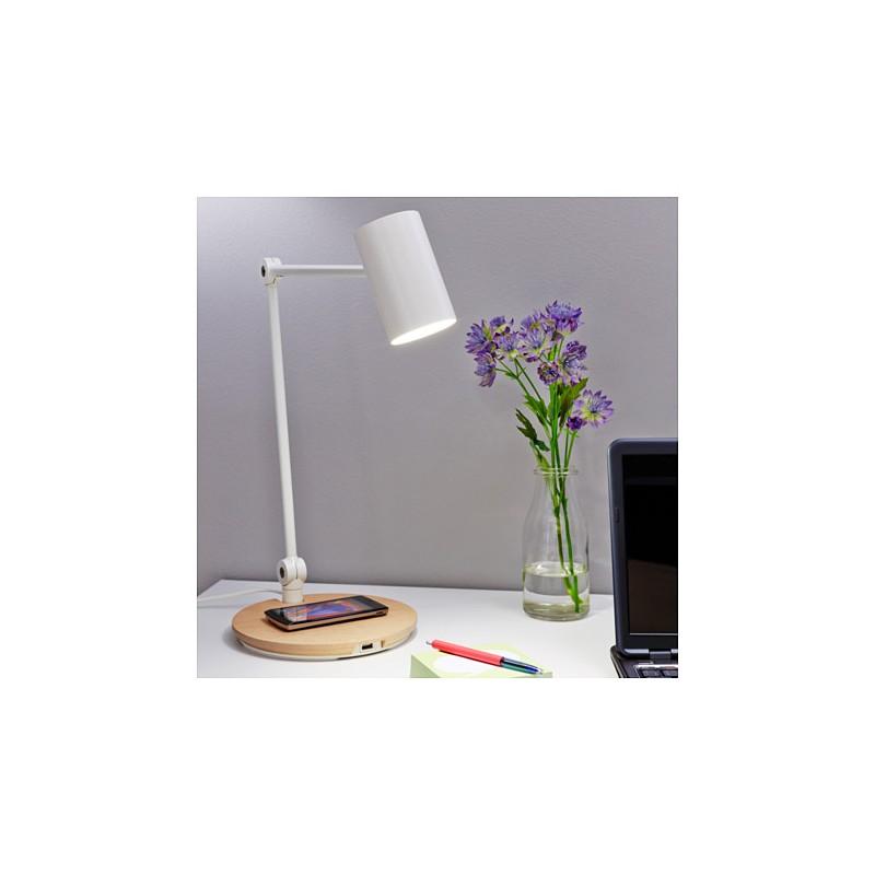 Ikea riggad lampada lavoro led ricarica wireless - Lampada a led ikea ...