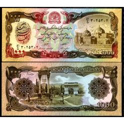 BANCONOTA AFGHANISTAN 1000 afghanis 1991 FDS UNC
