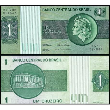 BANCONOTA BRAZIL1 cruzeiros 1980 FDS UNC