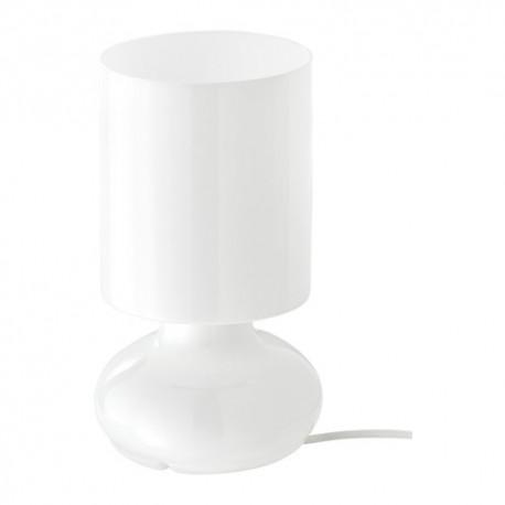 IKEA LYKTA Lampada da tavolo, bianco