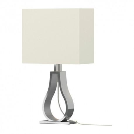 IKEA KLABB Lampada da tavolo, bianco sporco