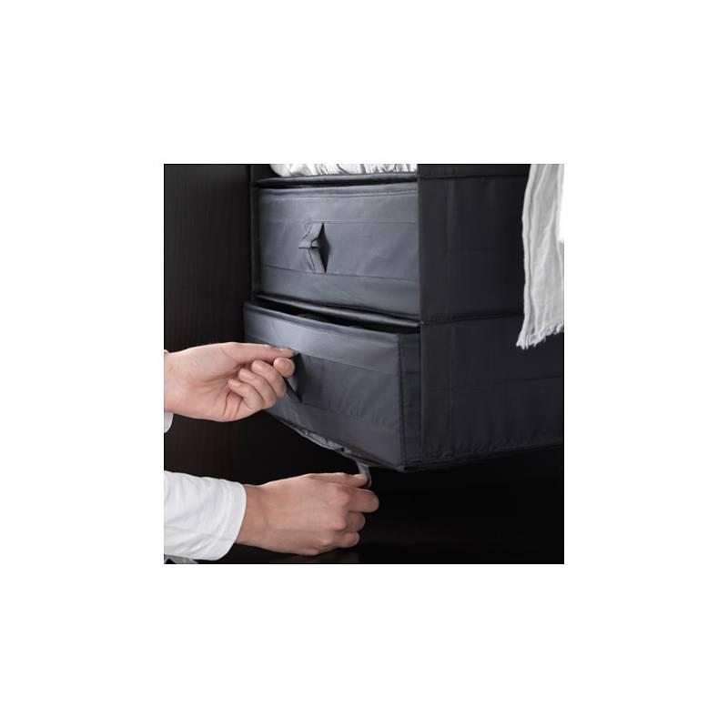 Ikea SKUBB Contenitore Scatola con scomparti nero per Cassetto guardaroba