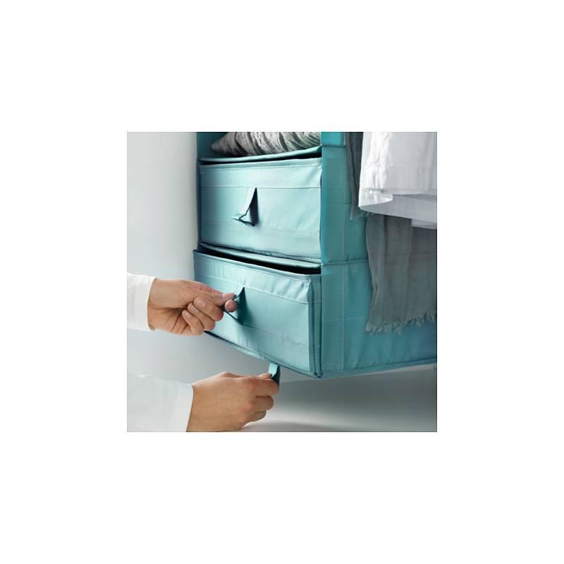 Ikea skubb contenitore scatola con scomparti azzurro per - Contenitori ikea bagno ...