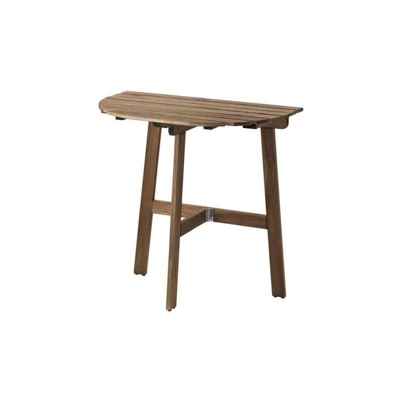 Askholmen tavolo da parete esterno pieghevole mordente grigio tortora - Ikea brandina pieghevole ...
