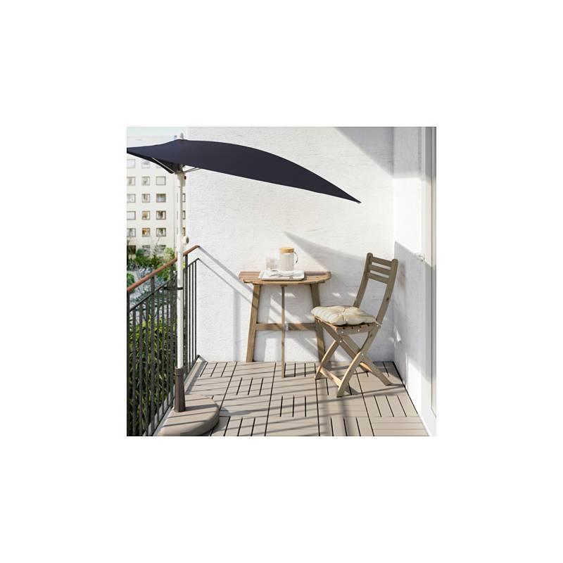 Askholmen tavolo da parete esterno pieghevole mordente - Tavolo ribaltabile da parete ikea ...