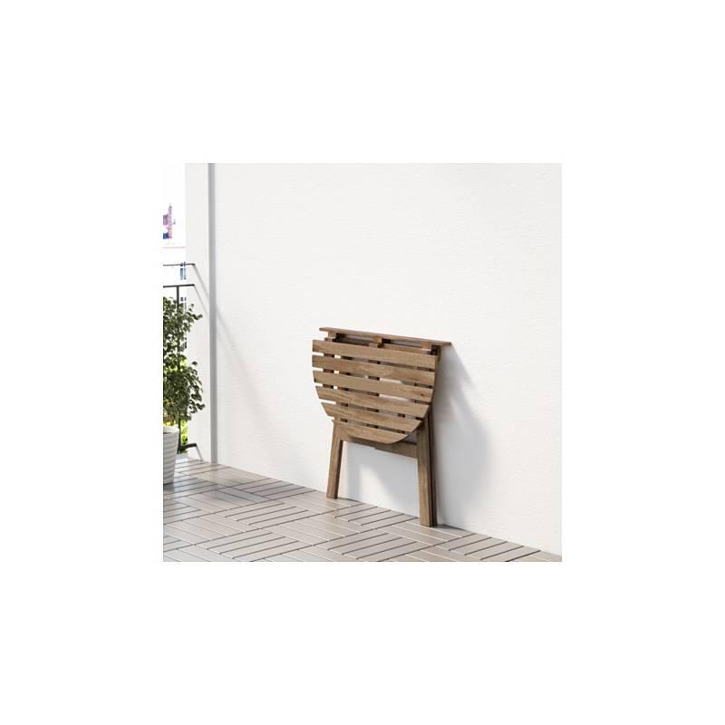 Askholmen tavolo da parete esterno pieghevole mordente - Tavolo giardino ikea ...