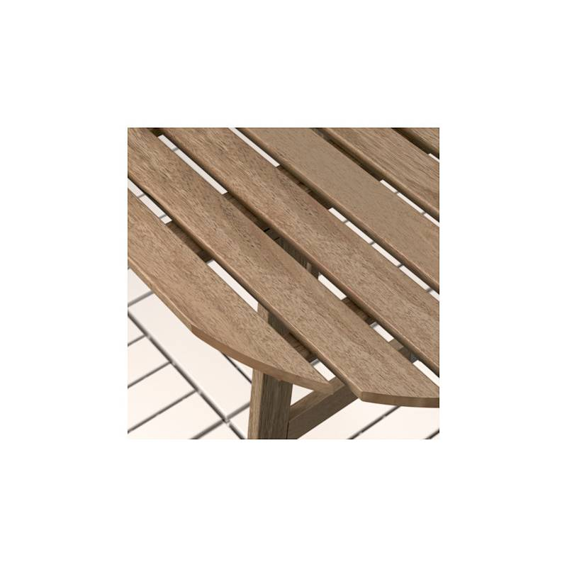 Askholmen tavolo da parete esterno pieghevole mordente - Tavolo da parete ikea ...