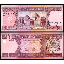 BANCONOTA AFGHANISTAN 1 afghanis 2002 FDS UNC