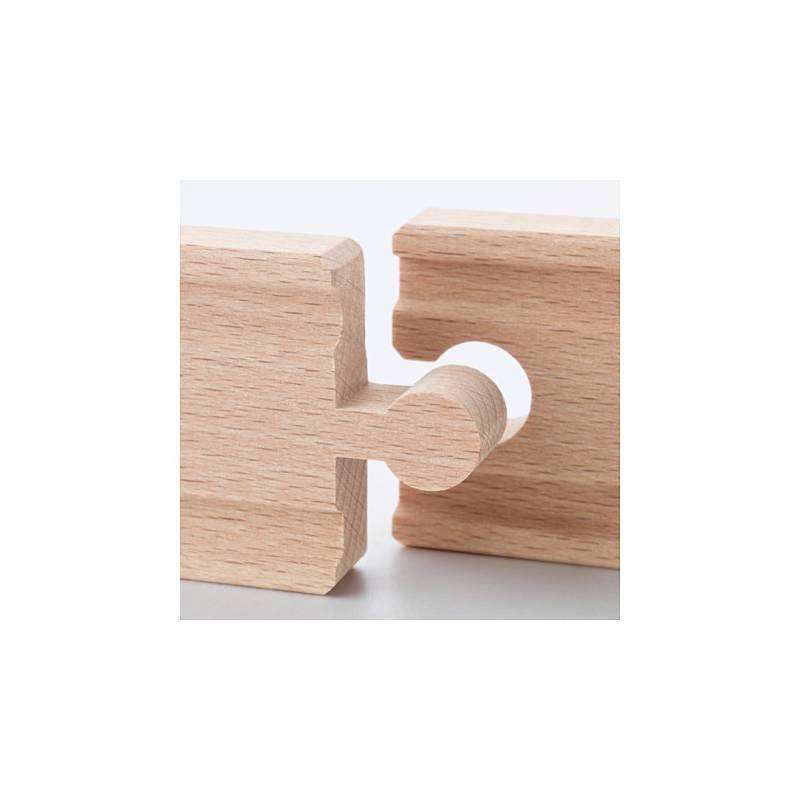 Ikea lillabo set binari 10 pezzi iper trenino in legno for Ikea articoli per bambini