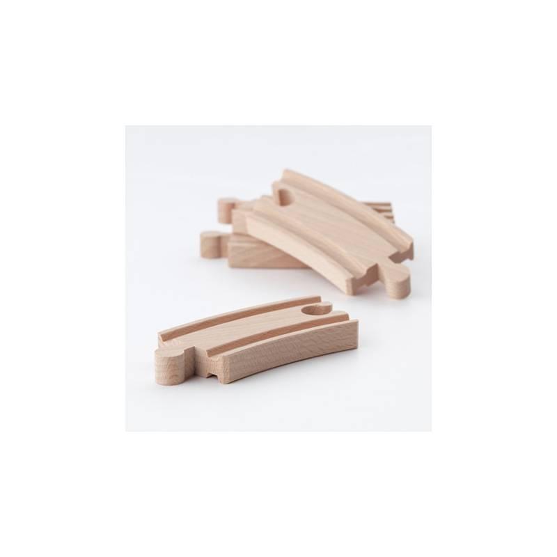 Ikea lillabo set binari 10 pezzi iper trenino in legno - Trenino di legno ikea ...