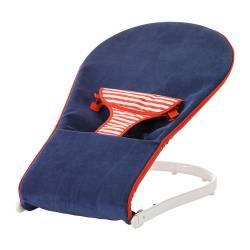 IKEA TOVIG Sdraietta, bambino blu, rosso