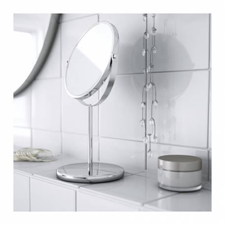 Ikea TRENSUM Specchio inox, 17 cm, altezza 33 cm Casa Camera Bagno ...