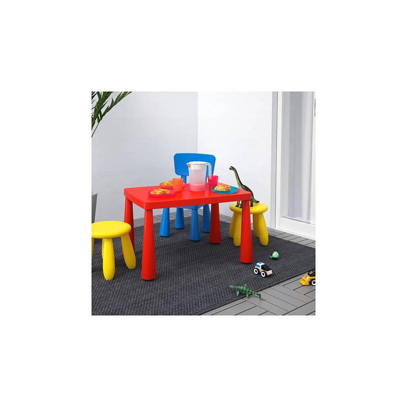 Ikea mammut tavolo per bambini interno esterno rosso - Ikea seggioloni per bambini ...