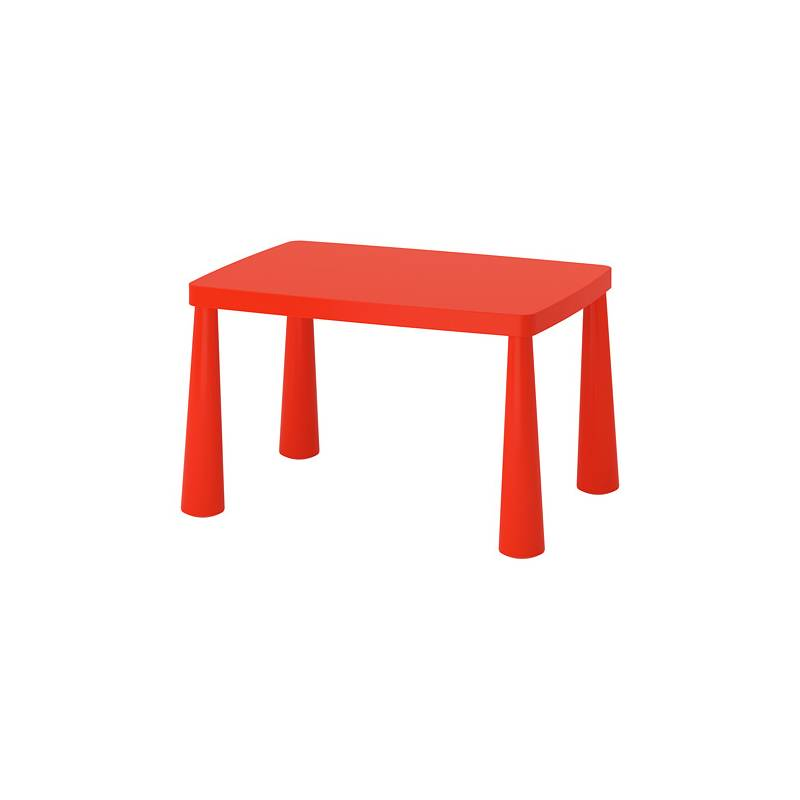 Ikea Mammut Tavolo Per Bambini Interno Esterno Rosso