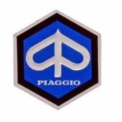 RMS Scudetto esagonale per scudo anteriore Piaggio 26mm 152280