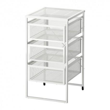 IKEA LENNART Cassettiera per ufficio bianco
