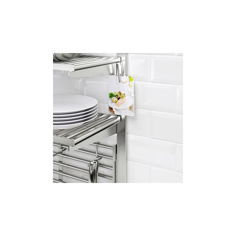 IKEA KUNGSFORS Binario di sospensione inox accessorio da parete cucina