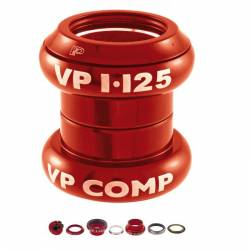 "VPCOMPONENTS SERIE STERZO A-HEAD SET 1"" - 1/8"" ROSSO"