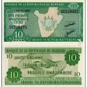 BANCONOTA BURUNDI 10 francs 2007 FDS UNC