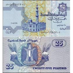 BANCONOTA EGYPT 25 piastras 2008 FDS UNC