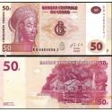 BANCONOTA CONGO 50 francs 2013 FDS UNC