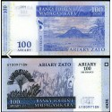 BANCONOTA MADAGASCAR 100 ariary 2004 FDS UNC