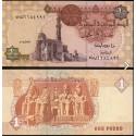 BANCONOTA EGYPT 1 pound 2008 FDS UNC