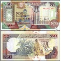 BANCONOTA SOMALIA 50 shiling 1991 FDS UNC