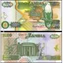 BANCONOTA ZAMBIA 20 kwacha 1992 FDS UNC