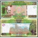 BANCONOTA GUINEA 500 francs 2012 FDS UNC