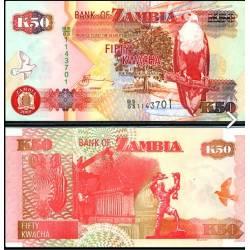 BANCONOTA ZAMBIA 50 kwacha 2009 FDS UNC