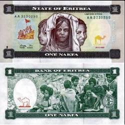 BANCONOTA ERITREA 1 nakfa 1997 FDS UNC