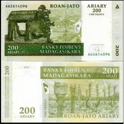 BANCONOTA MADAGASCAR 200 ariary 2008 FDS UNC