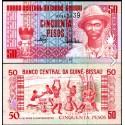 BANCONOTA GUINEA BISSAU 50 francs 1990 FDS UNC