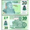 BANCONOTA NIGERIA 20 naira - polymer 2009 FDS UNC